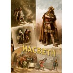 Puzzle  Grafika-00510 Affiche pour une production Américaine de Macbeth, avec Thomas W. Keene, 1884
