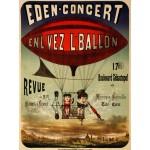 Puzzle  Grafika-00612 Affiche pour Eden-concert , 1884