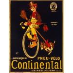 Puzzle  Grafika-00613 Affiche pour Les Pneus de Vélo Continental , 1900