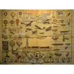 Puzzle  Grafika-00621 Dépliant du Petit Journal pour la Grande Semaine de l'aviation de Champagne , 1909