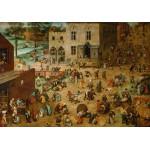 Puzzle  Grafika-00708 Brueghel Pieter : Les Jeux d'enfants, 1560