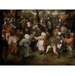 Puzzle  Grafika-00714 Brueghel Pieter : Danse des Paysans, 1566