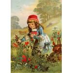 Puzzle  Grafika-00733 Le Petit Chaperon Rouge, illustration par Carl Offterdinger