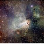Puzzle  Grafika-00768 Formation Stellaire de la Région Messier 17 prise par VST