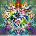 Puzzle  Grafika-00784 Fleurs et Papillons de Printemps
