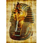 Puzzle  Grafika-00799 Vieux Papyrus Egyptien: Toutankhamon