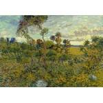 Puzzle  Grafika-00868 Van Gogh Vincent : Coucher de Soleil à Montmajour, 1888