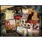 Puzzle  Grafika-00880 Collage d'Affiches