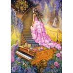 Puzzle  Grafika-00913 Melody in Pink
