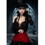 Puzzle  Grafika-01152 Femme Gothique aux Corbeaux