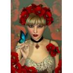 Puzzle  Grafika-01154 La Femme et le Papillon