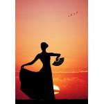 Puzzle  Grafika-01203 Flamenco at Sunset