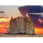 Puzzle  Grafika-01210 Phare du Stromboli, Italy