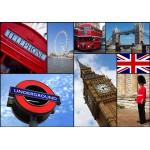 Puzzle  Grafika-01218 Collage - Londres