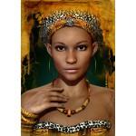 Puzzle  Grafika-01302 Femme Africaine