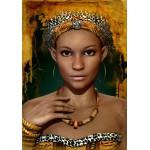 Puzzle  Grafika-01304 Femme Africaine