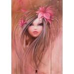 Puzzle  Grafika-01308 Misstigri : Sweet Pinky Girl