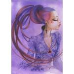 Puzzle  Grafika-01337 Misstigri : Violette