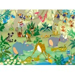 Puzzle  Grafika-01446 François Ruyer : Jungle