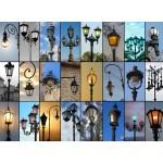 Puzzle  Grafika-01478 Collage - Lampadaires