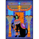 Puzzle  Grafika-01492 Chat Egyptien