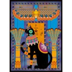 Puzzle  Grafika-01495 Chat Egyptien
