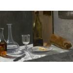 Puzzle  Grafika-01540 Claude Monet - Nature Morte, 1863