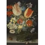 Puzzle  Grafika-01582 Peter Binoit: Nature Morte avec des Tulipes, 1623