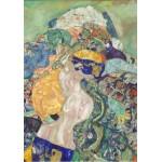 Puzzle  Grafika-01594 Gustave Klimt : Baby (Cradle), 1917-1918