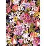 Puzzle  Grafika-01641 Vintage Flowers and Birds
