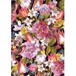 Puzzle  Grafika-01642 Vintage Flowers and Birds