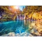 Puzzle  Grafika-01657 Parc National des Lacs de Plitvice, Croatie
