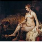 Puzzle  Grafika-01730 Rembrandt - Bethsabée au bain recevant la lettre de David, 1654