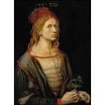 Puzzle  Grafika-01737 Albrecht Dürer - Auto-Portrait, 1493