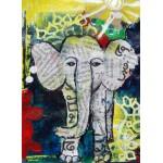 Puzzle  Grafika-01752 Eléphanteau Thaïlandais