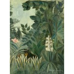 Puzzle  Grafika-01756 Henri Rousseau : La Jungle Equatoriale, 1909