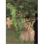 Puzzle  Grafika-01764 Edgar Degas : Danseuse en Coulisse, 1876/1883