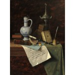 Puzzle  Grafika-01774 William Michael Harnett : Mes Trésors, 1888