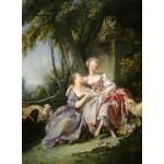 Puzzle  Grafika-01790 François Boucher : La Lettre d'Amour, 1750