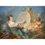 Puzzle  Grafika-01793 François Boucher : Allégorie de la peinture, 1765