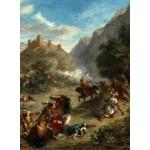 Puzzle  Grafika-01801 Eugène Delacroix : Arabes tiraillés dans les montagnes