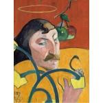 Puzzle  Grafika-01821 Paul Gauguin : Autoportrait, 1889