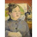 Puzzle  Grafika-01844 Paul Gauguin : Madame Alexandre Kohler, 1887-1888