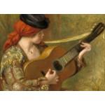Puzzle  Grafika-01867 Auguste Renoir : Jeune Femme Espagnole avec une Guitare, 1898