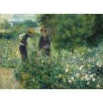 Puzzle  Grafika-01891 Auguste Renoir : Cueillette de Fleurs, 1875