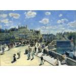 Puzzle  Grafika-01909 Auguste Renoir : Pont Neuf, Paris, 1872