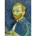 Puzzle  Grafika-01915 Vincent Van Gogh : Autoportrait, 1889