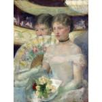 Puzzle  Grafika-01931 Mary Cassatt : The Loge, 1882