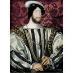 Puzzle  Grafika-01968 Jean Clouet : Portrait de François Ier, roi de France, 1530