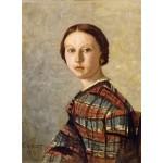 Puzzle  Grafika-01976 Jean-Baptiste-Camille Corot : Portrait de Jeune Fille, 1859